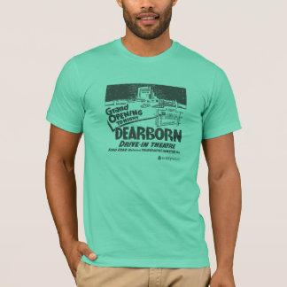 Movimentação de Dearborn no T dos homens da grande Camiseta