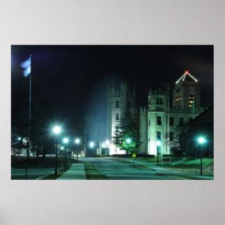 Movimentação do castelo & avenida da faculdade poster