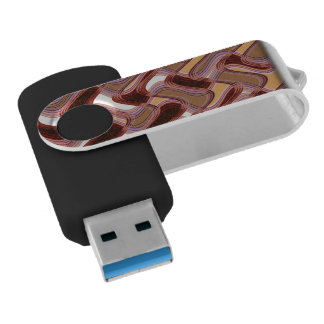 Movimentação do flash do giro de USB do porto & do Pen Drive Giratório