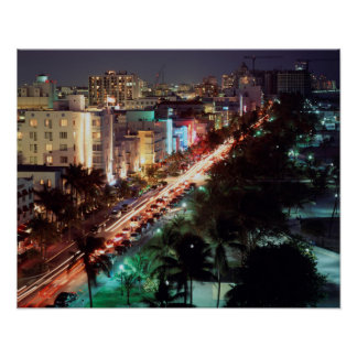 Movimentação dos EUA, Florida, Miami Beach, Posteres