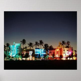 Movimentação dos EUA, Florida, Miami Beach, Pôster