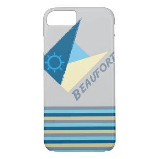 Movimento azul pela camisa a projetar capa iPhone 7