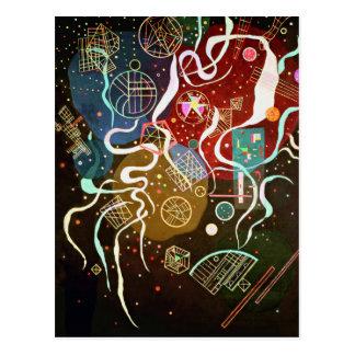 Movimento de Kandinsky mim cartão