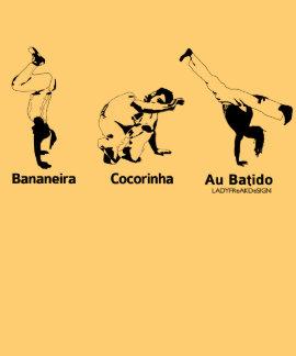 Movimentos de Capoeira Tshirts