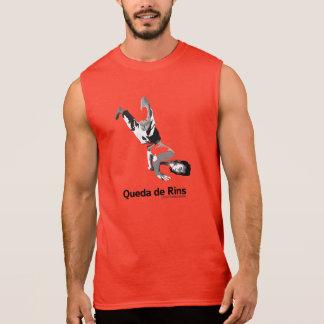 Movimentos de Capoeira, queda de rins Camisa Sem Manga