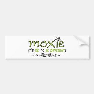 Moxie - é APROVADO SER DIFERENTE! Adesivos