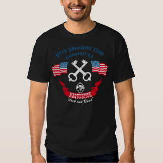"""MrQuickPick """"veterinários que destravam carros"""" T-shirt"""