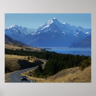 Mt. Cozinheiro, Nova Zelândia Posteres