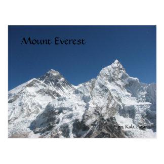 Mt Everest do cartão de Kala Patar