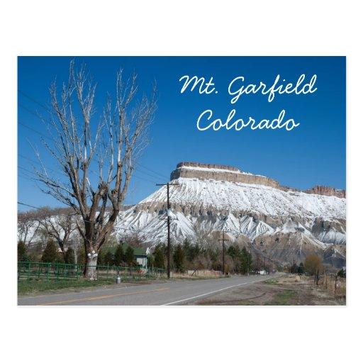 Mt. Garfield, Colorado Cartão Postal