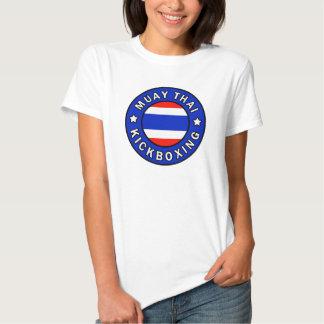 Muay Kickboxing tailandês Tshirts