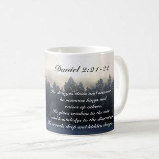 Muda épocas e estações, bíblia do 2:21 de Daniel Caneca De Café