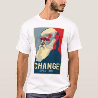 Mudança ao longo do tempo camiseta