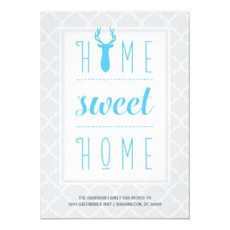Mudança da casa | de endereço doce Home Convite 12.7 X 17.78cm