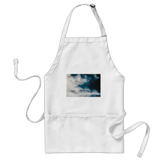 Mudança das nuvens avental