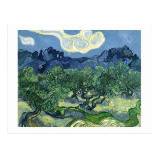 Mudança das oliveiras | de Van Gogh | de endereço Cartão Postal