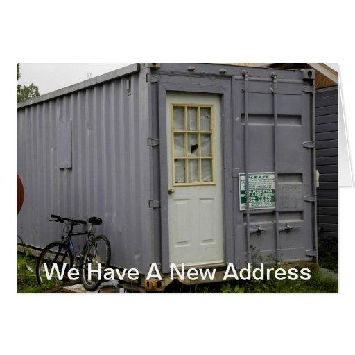 Mudança de endereço: Casa do reboque Cartao
