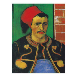 Mudança de Van Gogh | de endereço Cartão Postal