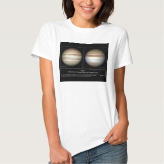 Mudanças de Jupiter na atmosfera de Serface Tshirt