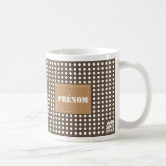 Mug castanho personalizar - mim Super Papá Caneca De Café