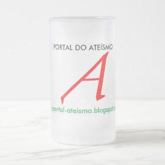 CANECA DE CHOP/CERVEJA PORTAL DO ATEÍSMO