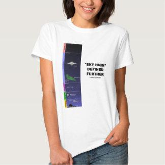 """""""Muito ao alto"""" definido mais (atmosfera) Tshirt"""