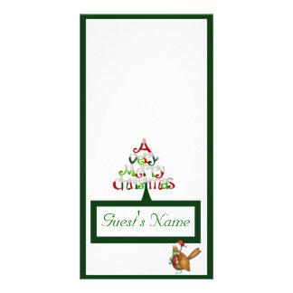 Muito Feliz Natal Cartão Com Foto