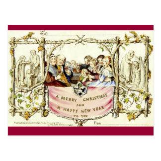 Muito o primeiro cartão de Natal (1843)