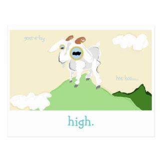 Muito um cartão da cabra de Punny