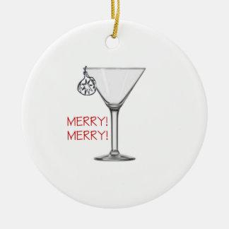 Muito um ornamento do Feliz Natal - parte traseira