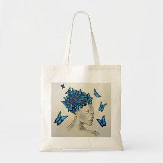 mulher às borboletas bolsa