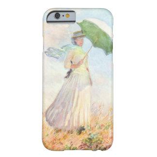 Mulher com um parasol capa barely there para iPhone 6