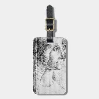 Mulher das pessoas idosas de Domenico Ghirlandaio- Etiqueta De Mala De Viagem