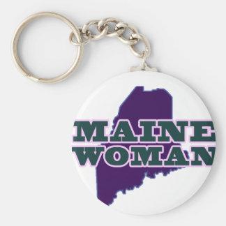 Mulher de Maine Chaveiro