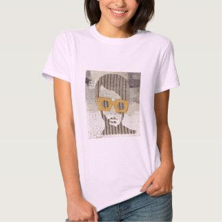 Mulher dos grafites t-shirts