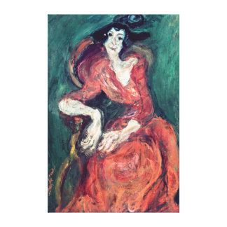 Mulher em Vermelho, 1922