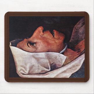 Mulher idosa do camponês por Bruegel D. Ä. Pieter Mousepads
