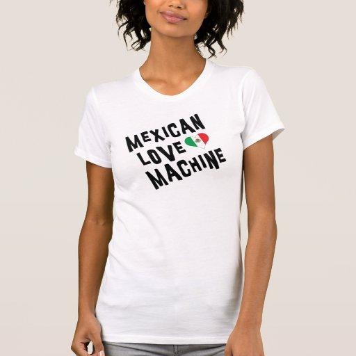 Mulher mexicana da máquina do amor tshirt