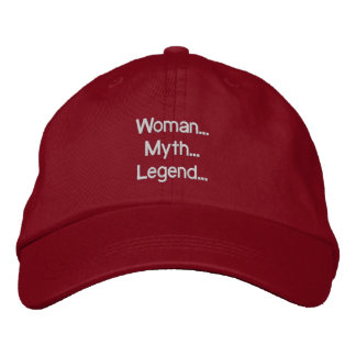 Mulher… Mito… Legenda… Chapéu Boné Bordado