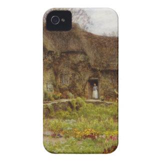 Mulher na casa de campo de Dorset Capinha iPhone 4