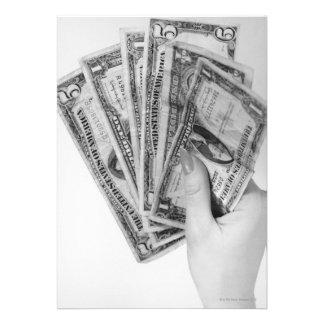 Mulher que guardara o dinheiro convite personalizado