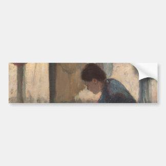 Mulher que passa por Edgar Degas Adesivos
