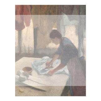 Mulher que passa por Edgar Degas Panfleto Personalizados
