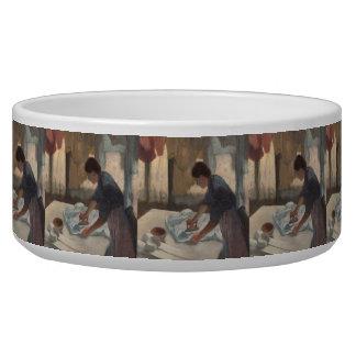 Mulher que passa por Edgar Degas Tijela Para Água Para Cachorros