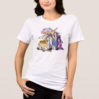 Mulheres brancas mais camisas do Dia das Bruxas do