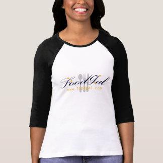 Mulheres cabidas, camisa do galão da comida da