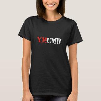 Mulheres da camisa do preto T da roupa de YMCMB