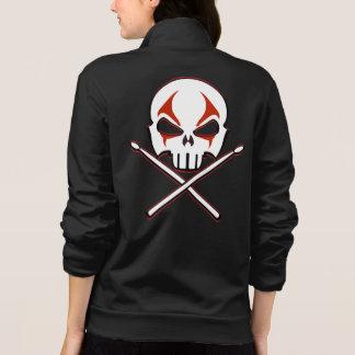 Mulheres da jaqueta do metal pesado da jaqueta do