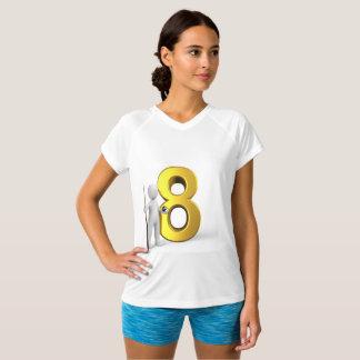 Mulheres das camisas dos bilhar T