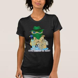 MULHERES do espanhol de Bandido da água de T-shirt